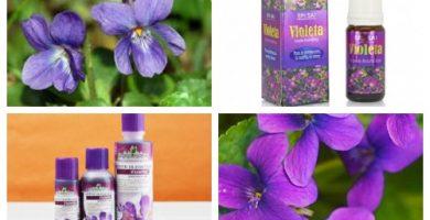 Aceite de violeta para que sirve