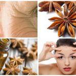 El aceite de anis sirve para quitar las arrugas