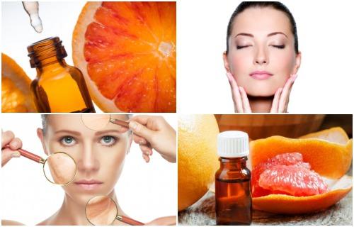 El aceite de toronja sirve para la piel
