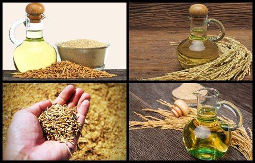 aceite de salvado de arroz para cocinar