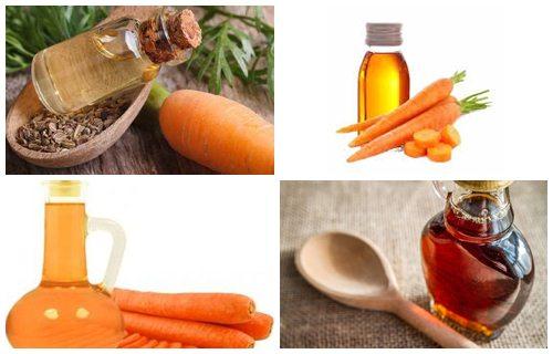 aceite esencial de zanahoria semilla