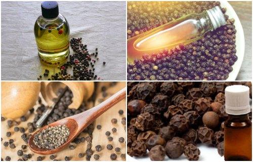 como usar el aceite de pimienta negra