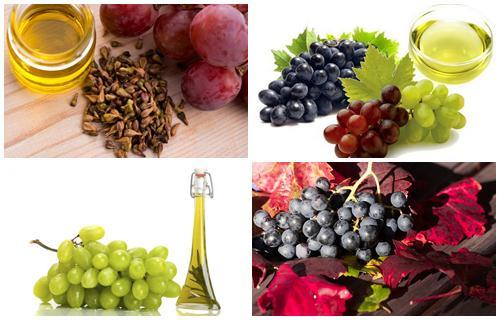 aceite esencial de uva