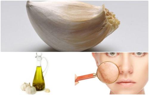 para que sirve el aceite de ajo para la piel
