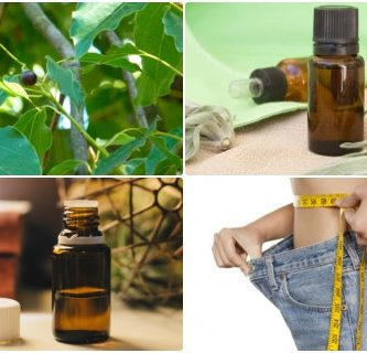 Aceite esencial de alcanfor para adelgazar