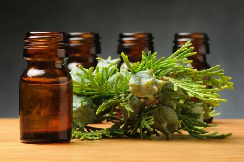 Aceite esencial de ciprés para las hemorroides