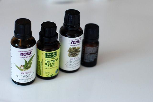 aceite esencial de eucalipto limonero